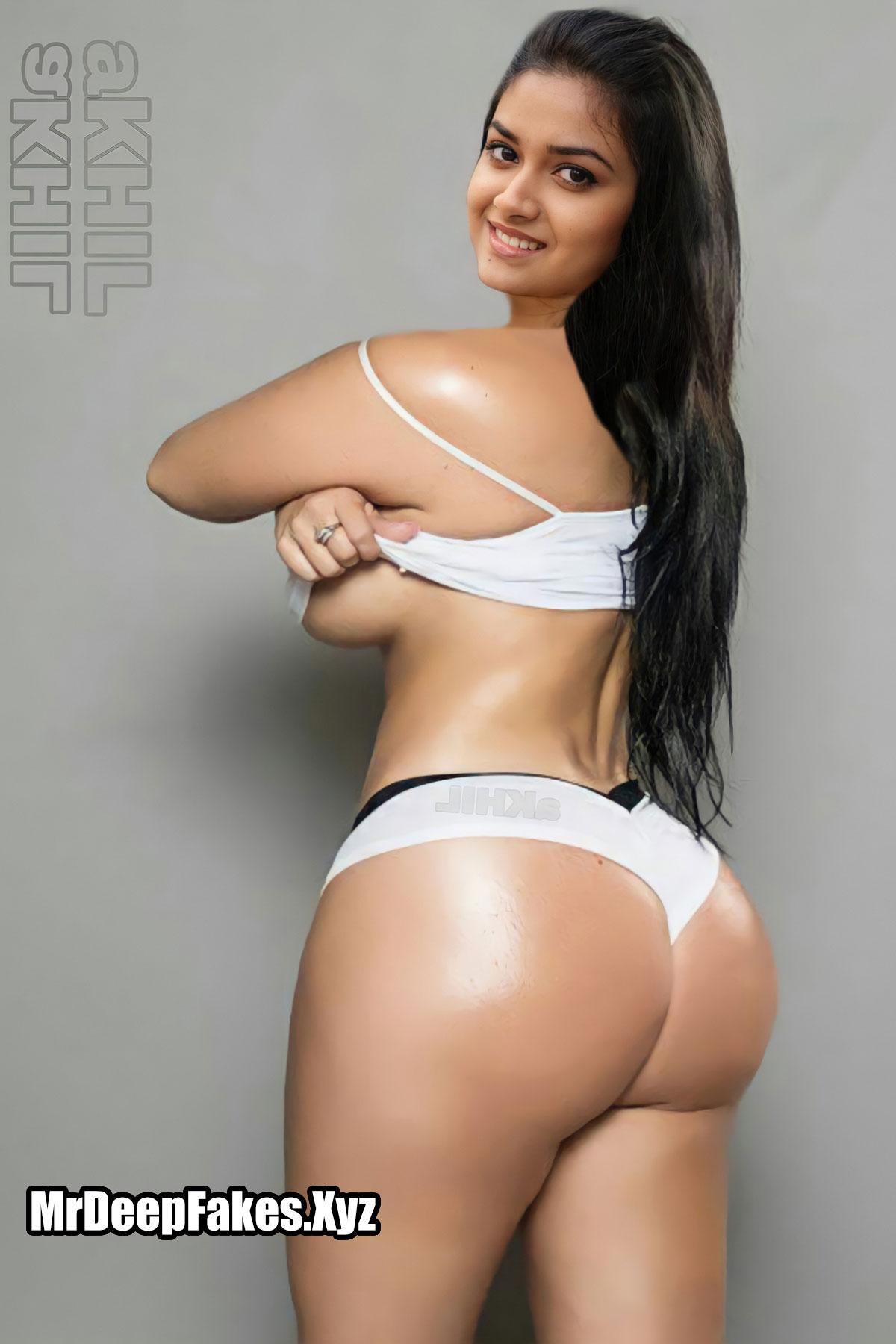 Keerthy Suresh Nude Stripping Bikini Naked Fat Ass Xxx Fakes