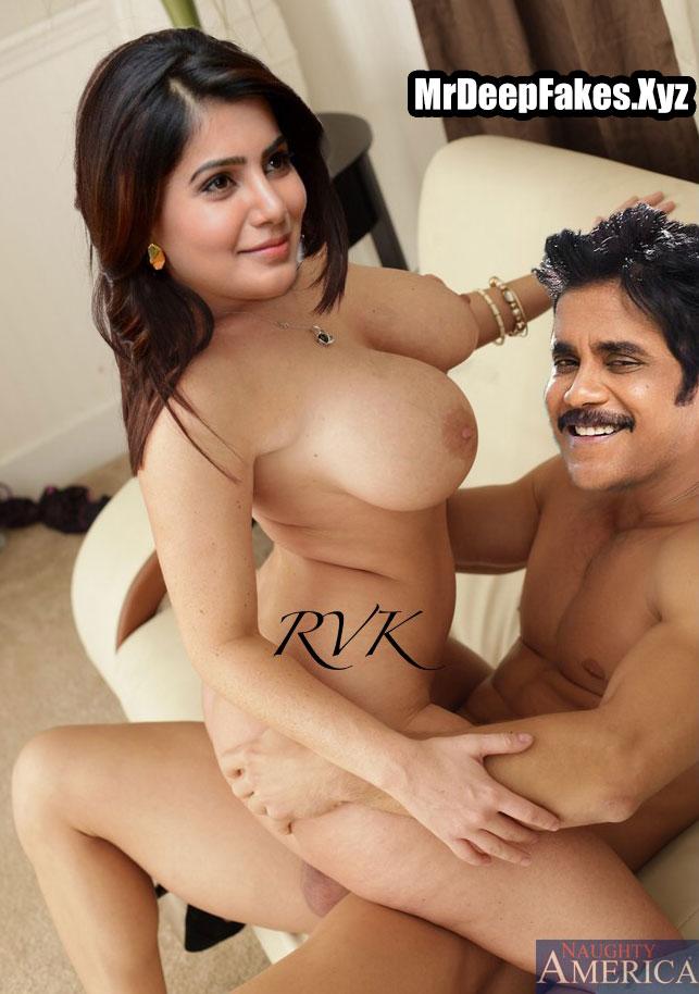 Nagarjuna  Fucking Samantha Akkineni Nude Fakes By Rvk