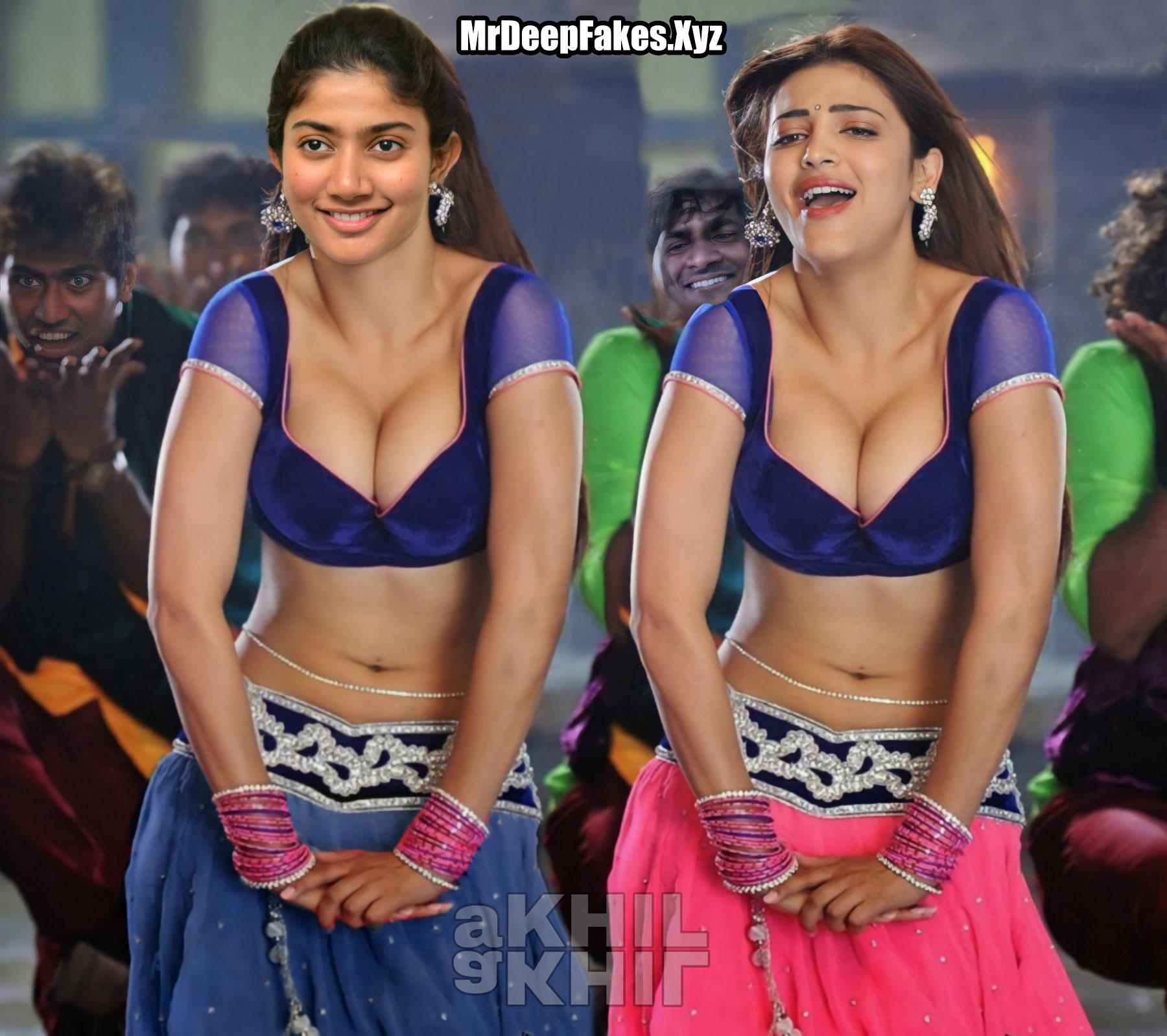 Sai Pallavi And Shruti Haasan Hot Item Dance Xxx Deep Cleavage Fakes