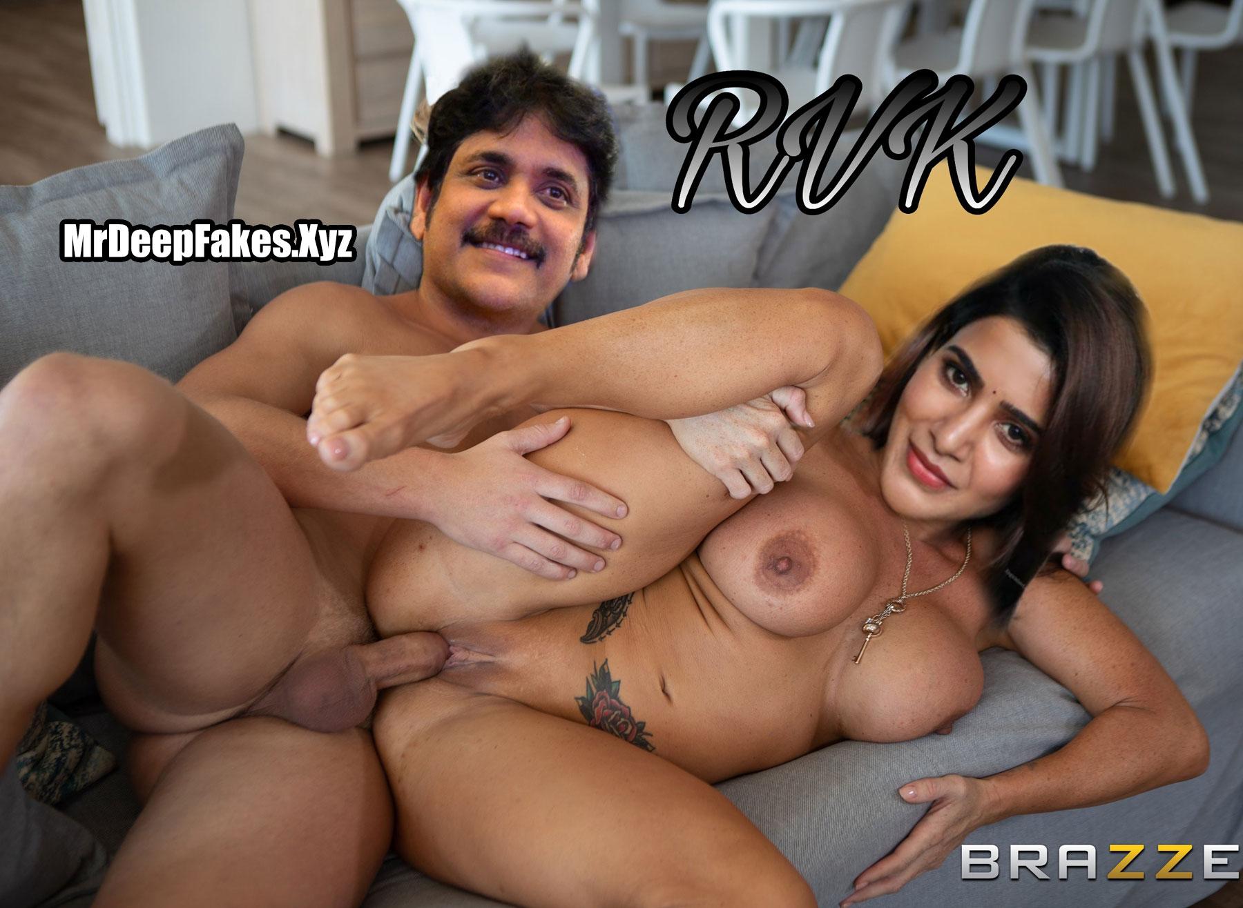 Samantha Akkineni Naked Pussy Getting Bucked By Nagarjuna Fakes Rvk