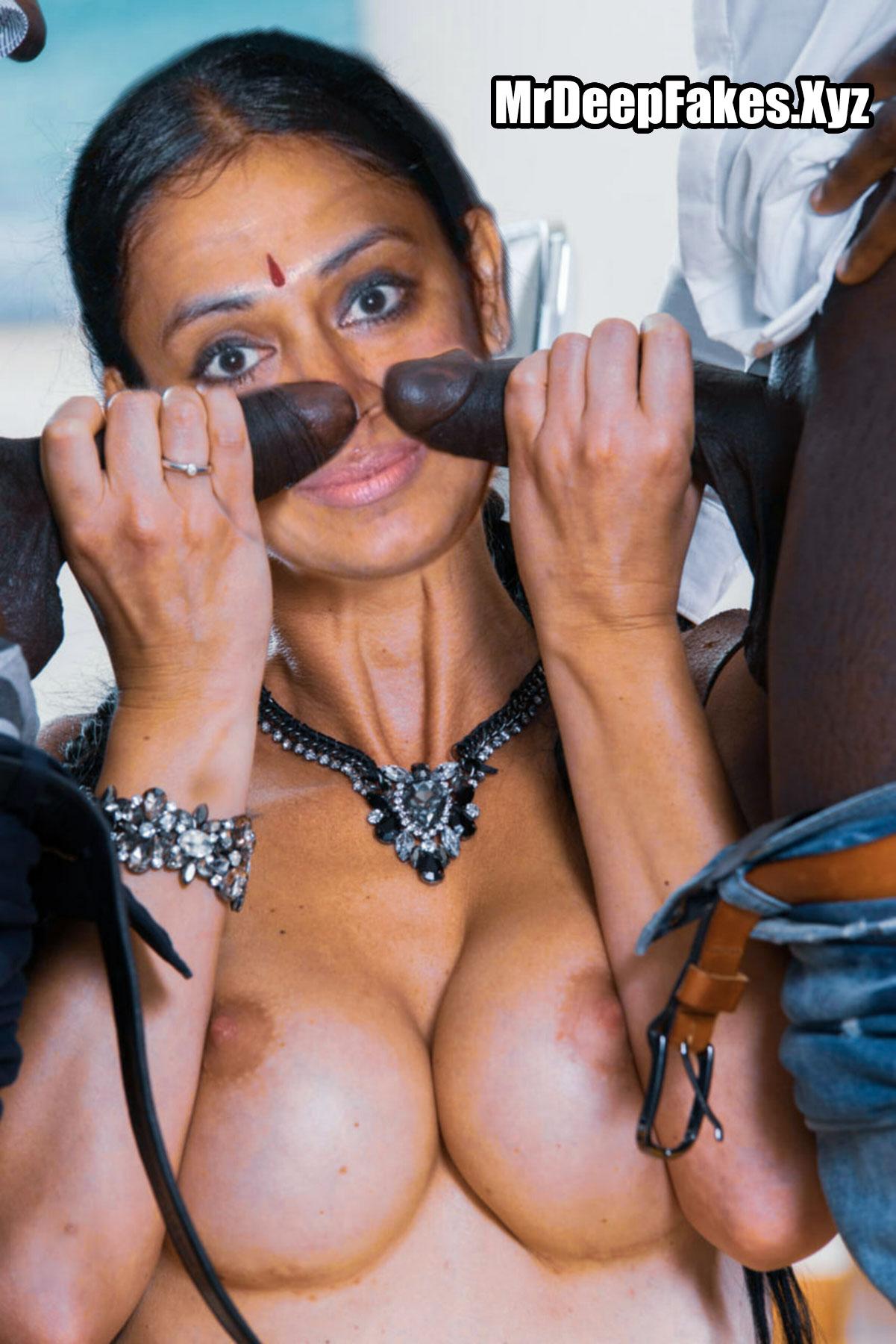 Shobana Nude Blowjob Sex With Two Big Cocks Xxx Fakes