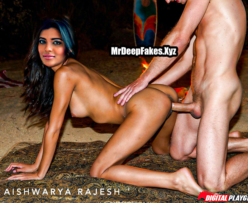 Aishwarya Rajesh naked outdoor doggy style after shooting