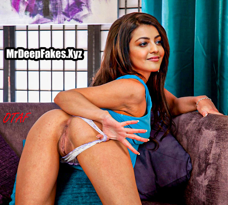 Kajal Aggarwal nude asshole cute shaved pussy photograph