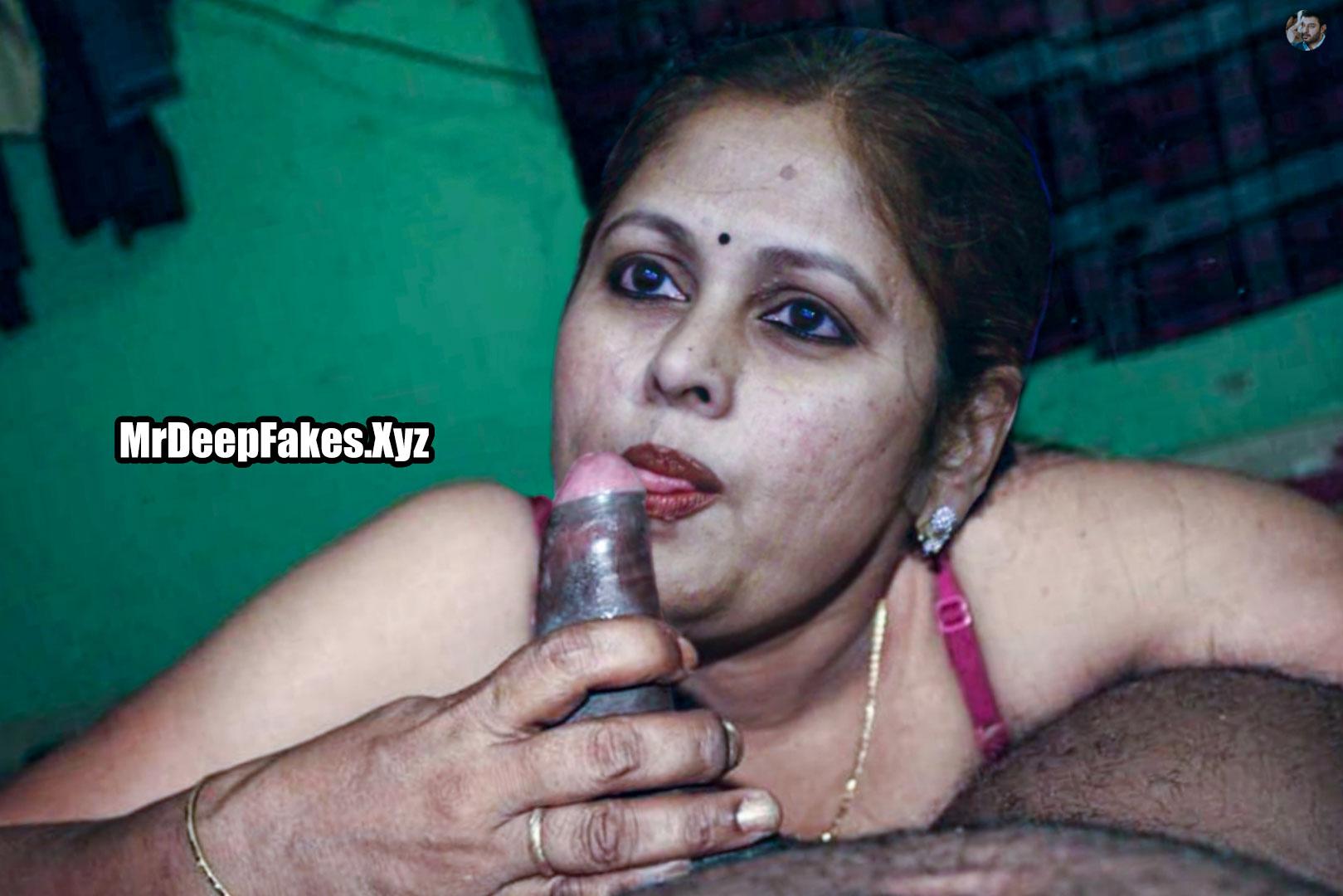 Old milf actress Jayasudha licking black cock xxx foto