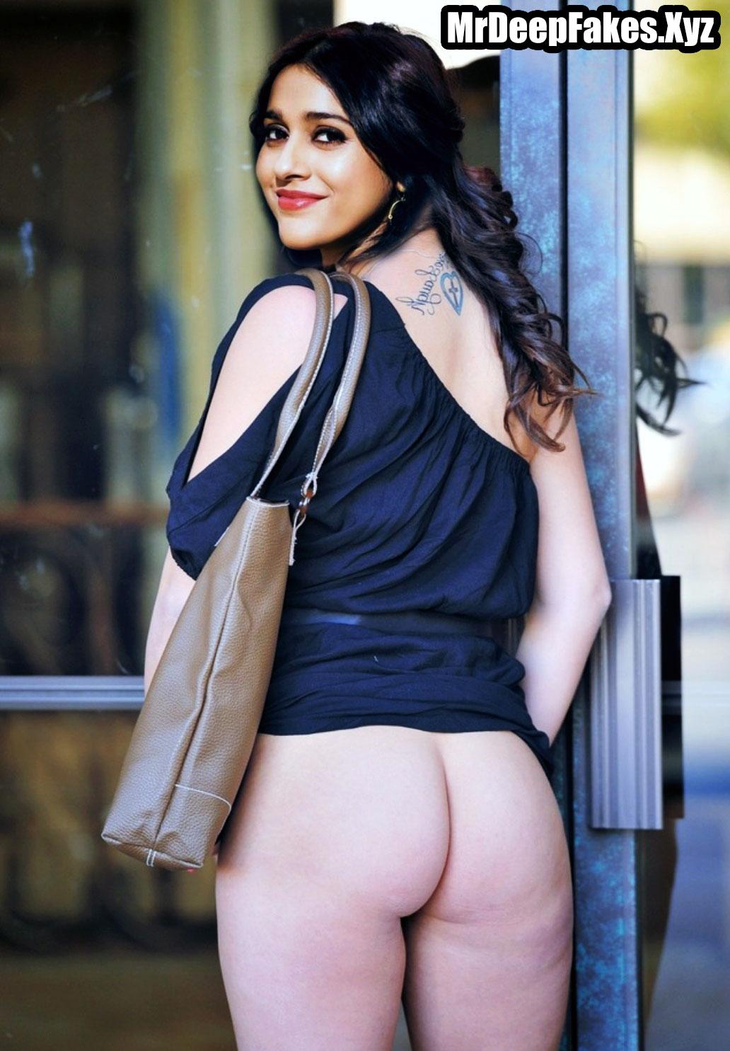 Rashmi Gautam sexy nude white ass without undies outdoor shoot