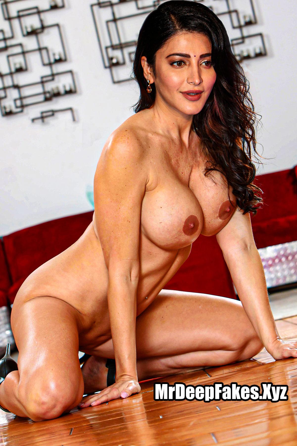 Shruti Haasan big fake boobs naked beautiful body hot pic
