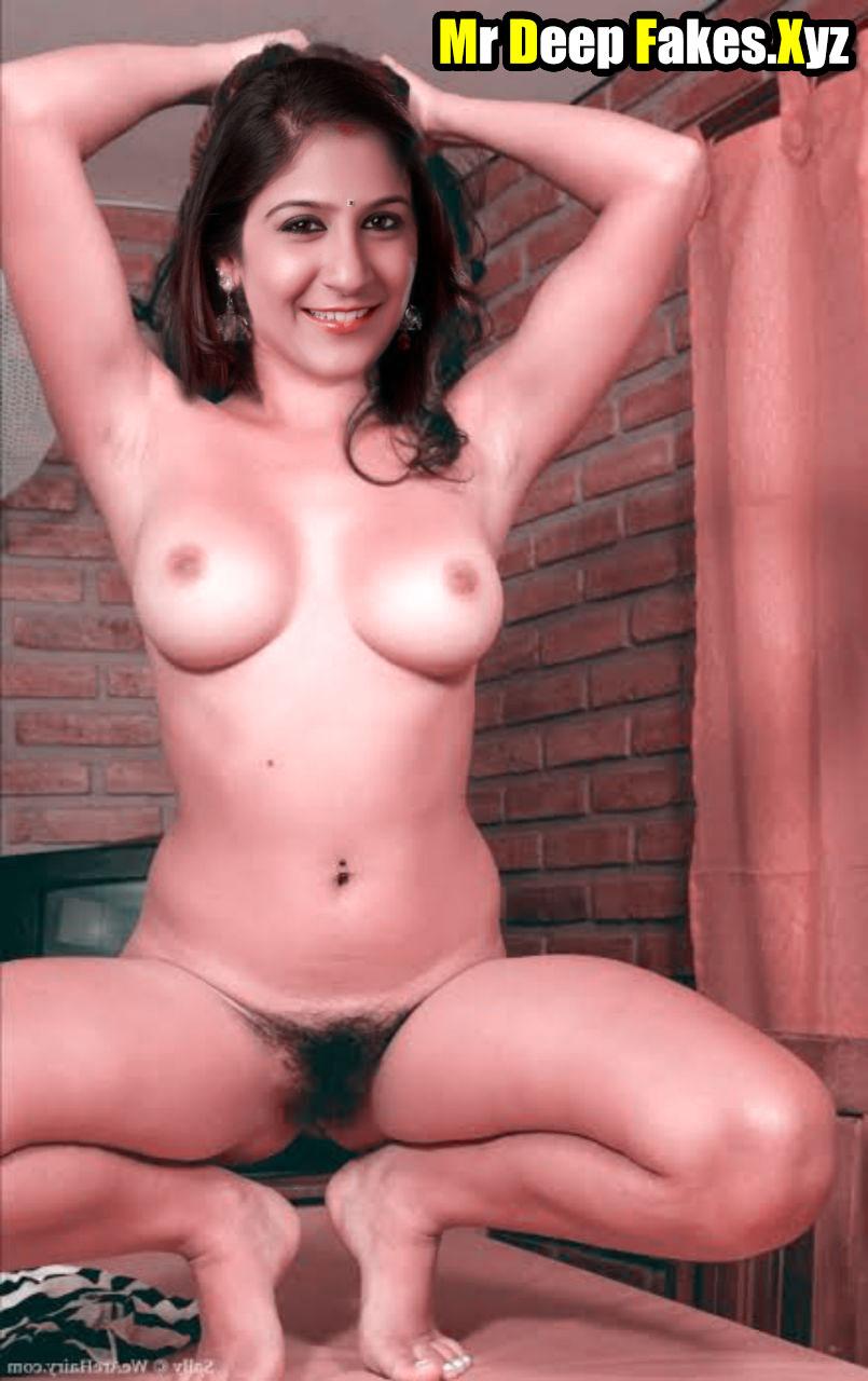 Shweta Mohan naked Telegu singer body pose without dress