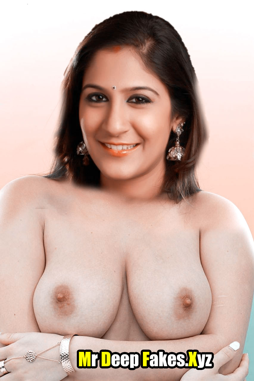 Singer Shweta Mohan sexy nude hot boobs pink nipple pose