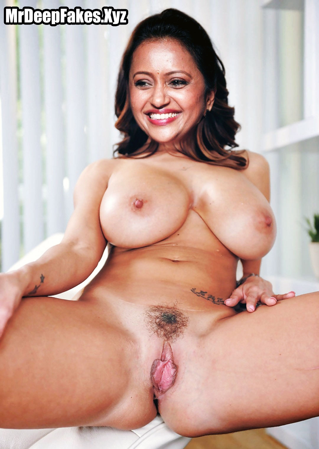 Tv Actress Suma nude body photo without dress big boobs shaved pussy