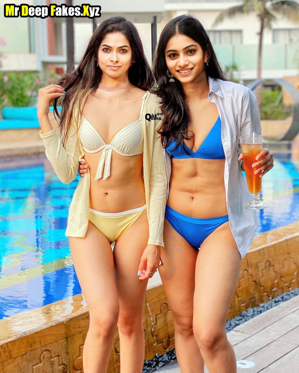 Telugu Big Boss lesbian Divi Vadthya bikini Punarnavi Bhupalam xxx photoshoot