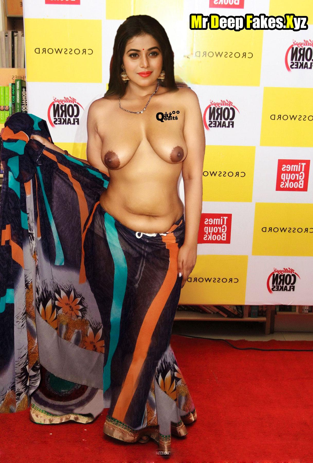 Topless Poorna topless Telegu movie press meet public show actress nude boobs