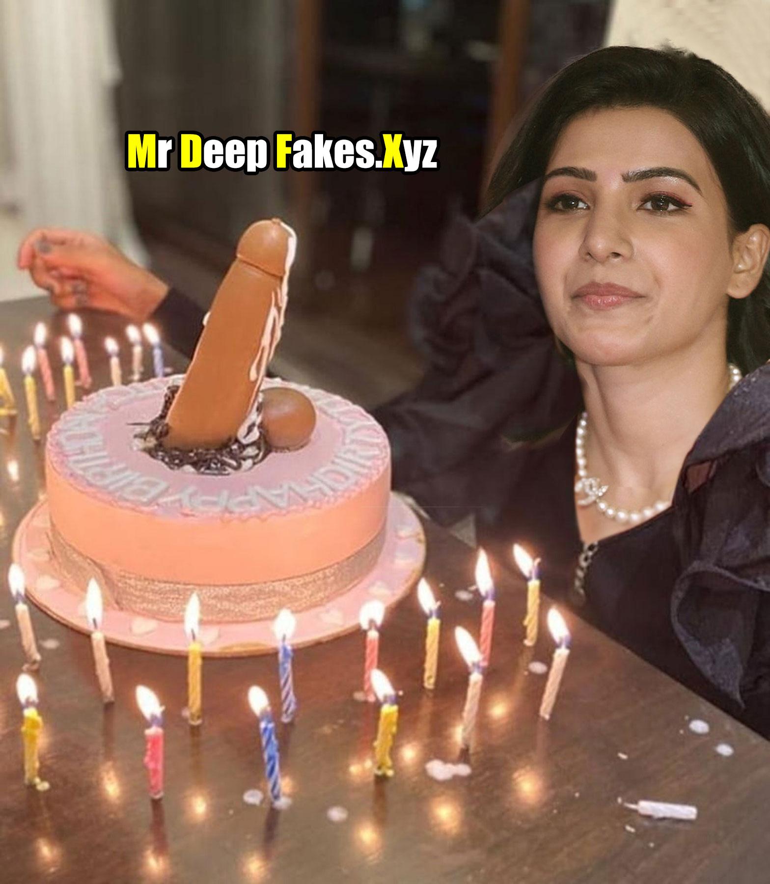 Samantha Akkineni cock birthday cake xxx bitch actress leaked photo
