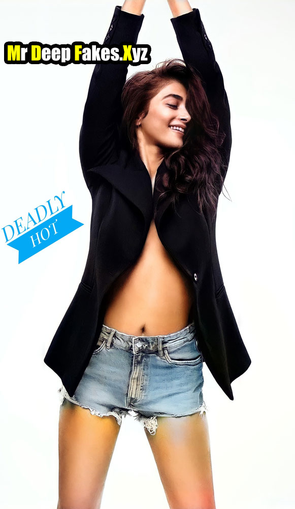 Actress Pooja Hegde New Photoshoot Sexy Navel photo