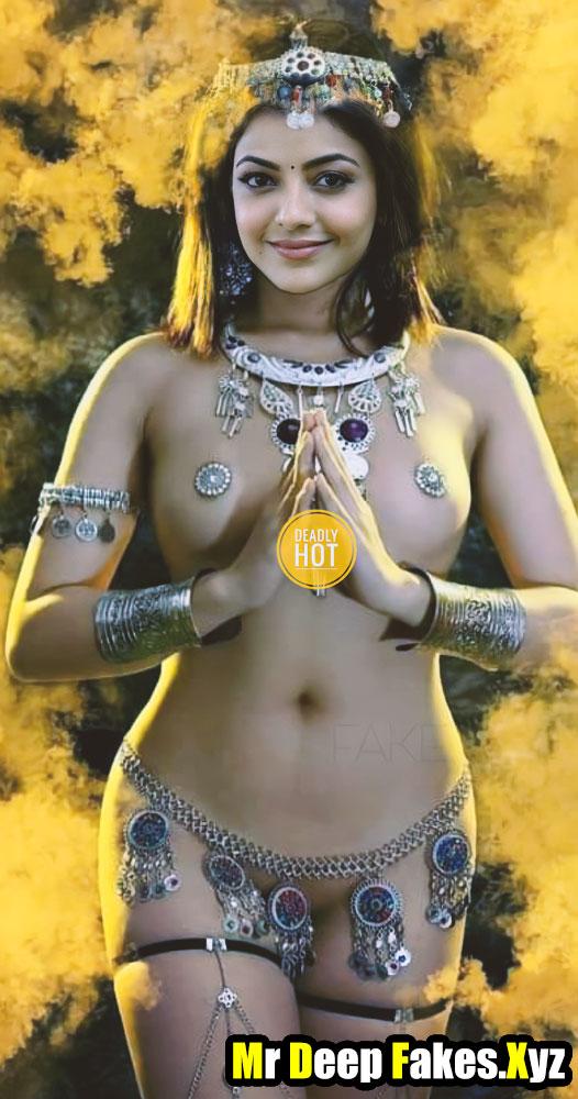 Hot Kajal Aggarwal New Photoshoot Queen Bikini like Nude leak